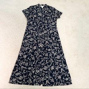 Norton McNaughton Button Maxi Dress